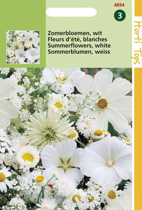 Hortitops Zaden - Zomerbloemen Witte Tinten