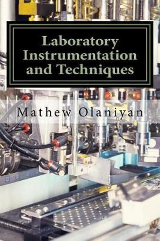 Laboratory Instrumentation and Techniques