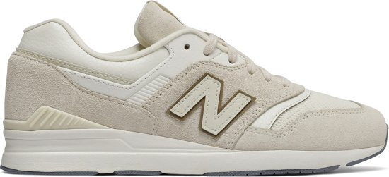 beige new balance shoes