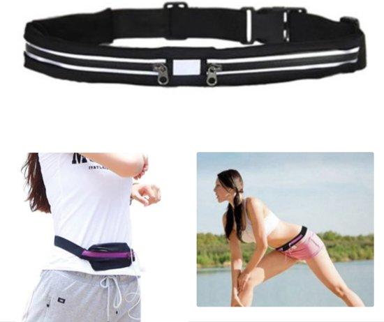 Hardloopriem - Hardlooptas - Money belt - Running belt - Heupband - Heuptasje Smartphone - Fitness Heuptas - Waterafstotend