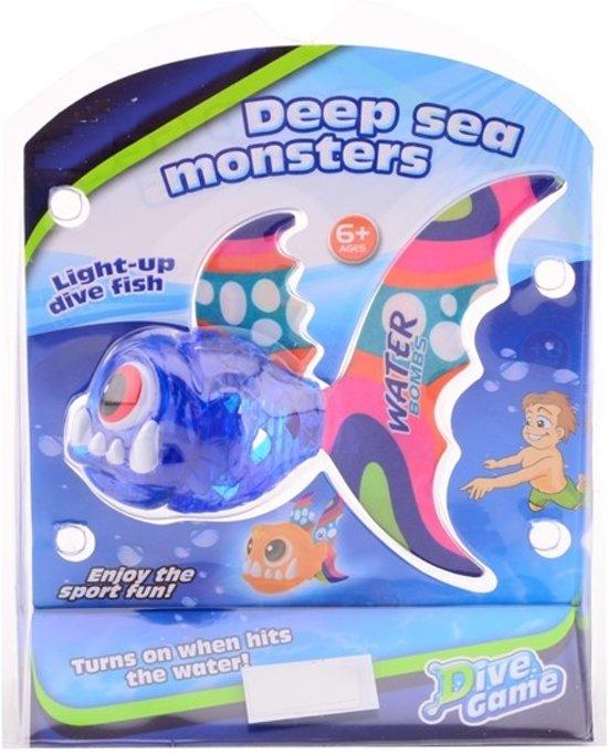 Afbeelding van het spel Deep sea monsters met licht om op te dui