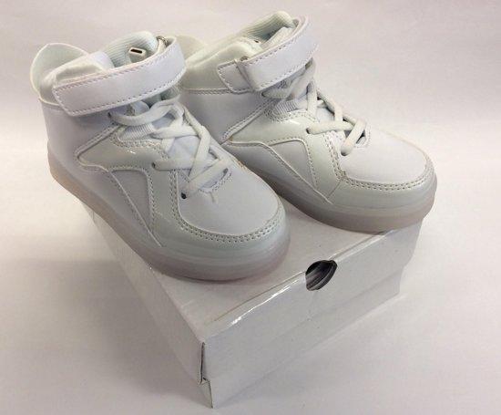 77a4cd91609 bol.com | LED Sneakers met Instelbaar Licht - Schoenen - Maat 28 ...