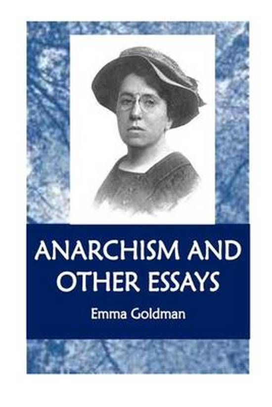emma goldman anarchism and other essays amazon Anarchism and other essays (english edition) ebook: emma goldman: amazonit: kindle store amazonit iscriviti a prime amazonit iscriviti a prime.