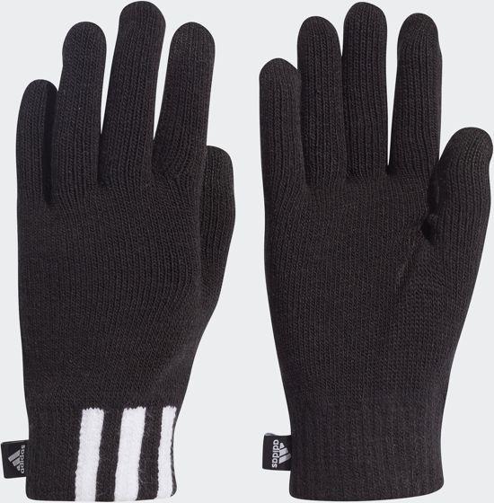 adidas 3S Gloves Condu Sporthandschoenen - Black/White/Black - Maat M