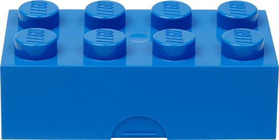 Lego Classic Lunchbox - Brick 8 - Blauw
