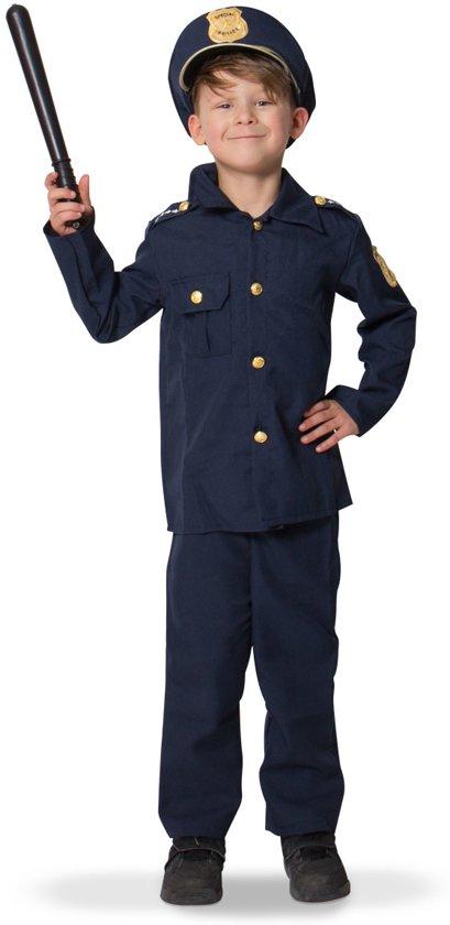 Politie - Carnavalskleding- Maat 104-110