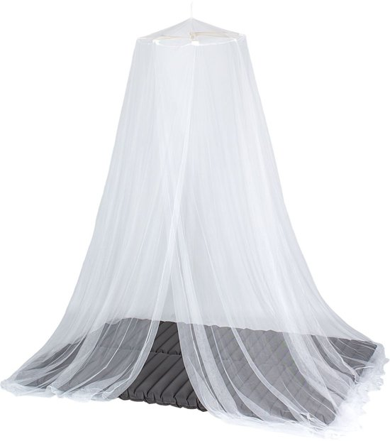 Goede bol.com | Abbey Klamboe 2-persoons Polyester Wit BH-79