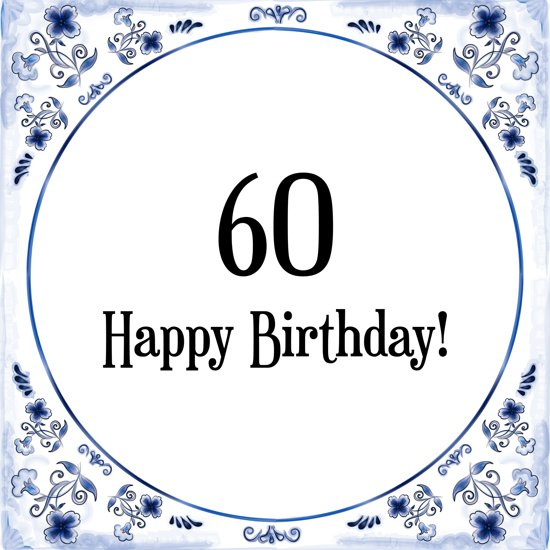 60 Jaar Cadeau