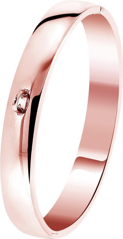 Lucardi - Just.D Daydream - JUST.D Stalen armband roseplated
