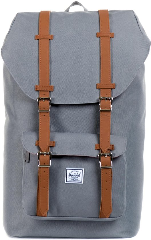 bol | herschel supply co. little america rugzak - grey