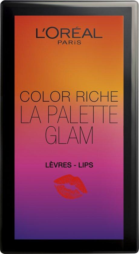 L'Oréal Paris Color Riche - 000 Glam - Lip Palette