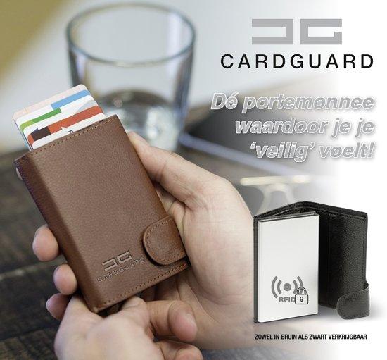 Card Guard Protector Wallet - heren portemonnee zwart - pasjeshouder - RFID