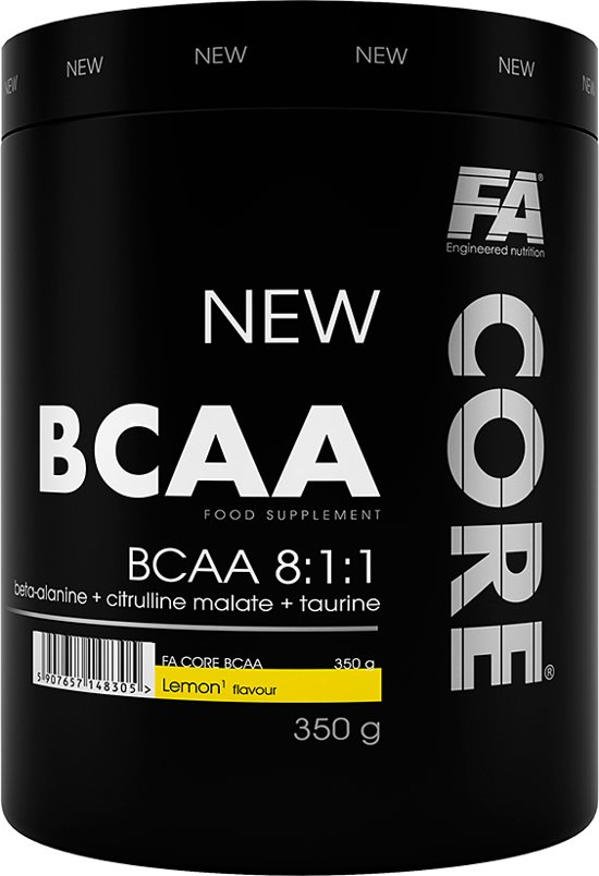 FA Core BCAA 350 Grams Lemon