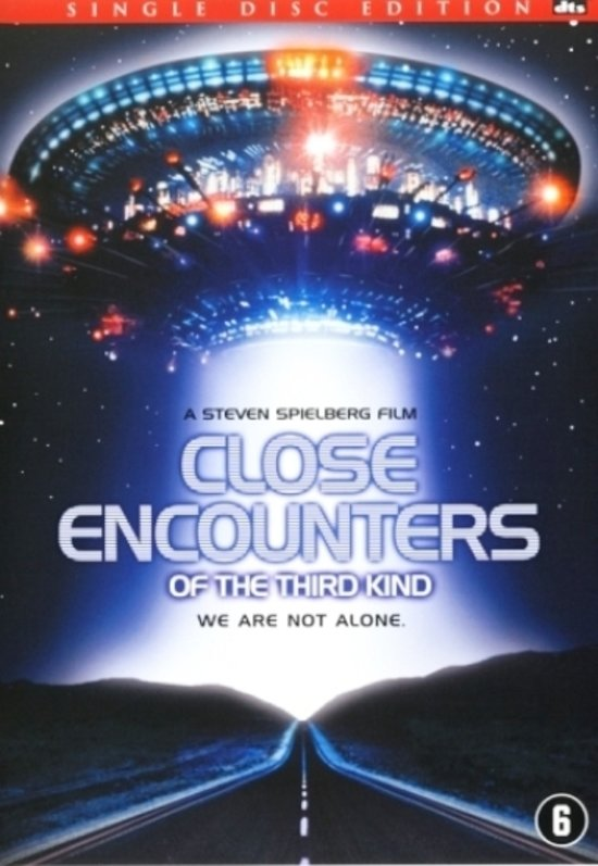 DVD cover van Close Encounters Of The Third Kind