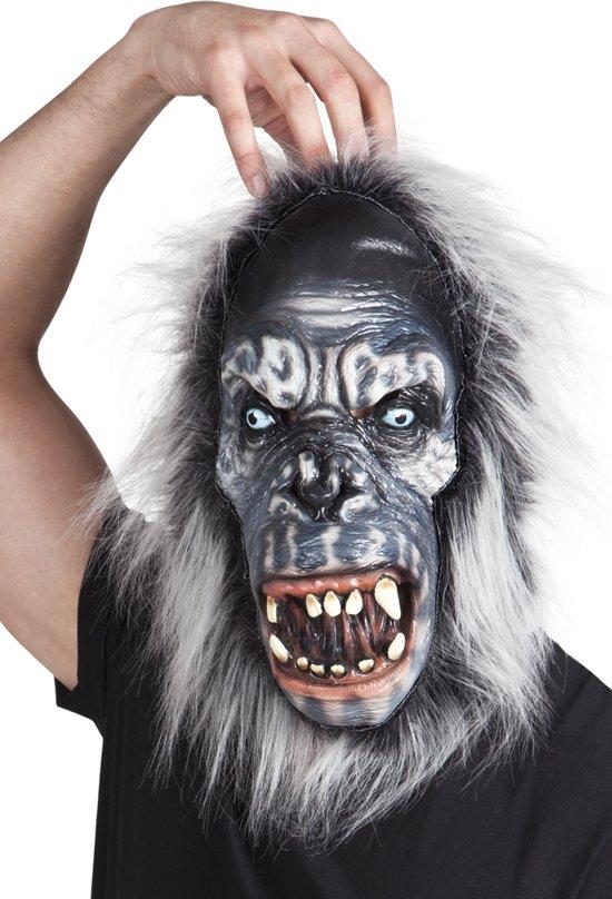 Latex masker Gorilla met vacht