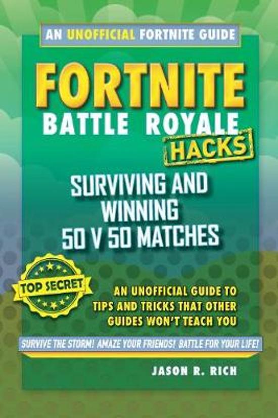 Boek cover Fortnite Battle Royale Hacks van Jason R. Rich (Hardcover)