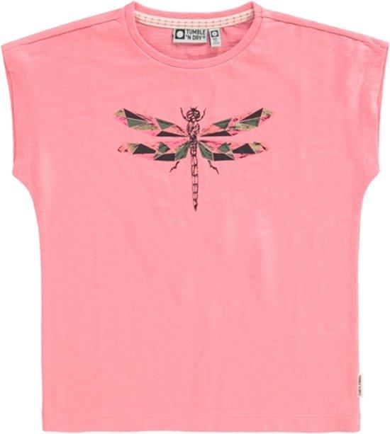 464121871eb bol.com | Tumble 'n dry Meisjes T-shirt Carolien - Strawberry Pink ...