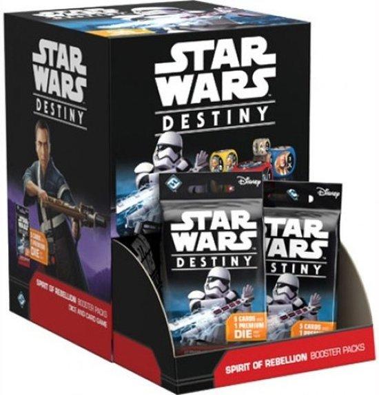 Afbeelding van het spel Star Wars Destiny: Spirit of Rebellion booster display