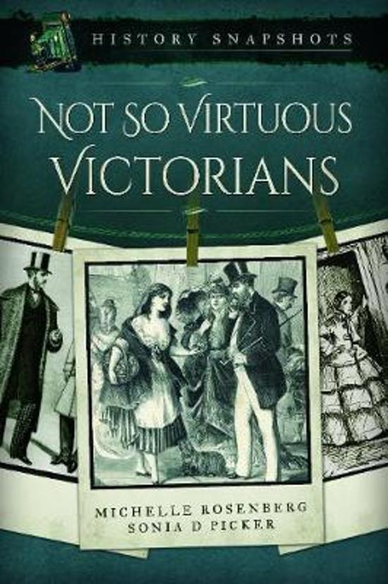 Boek cover Not So Virtuous Victorians van Michelle Rosenberg (Paperback)
