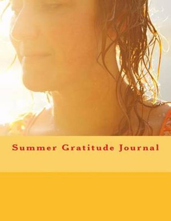 Summer Gratitude Journal
