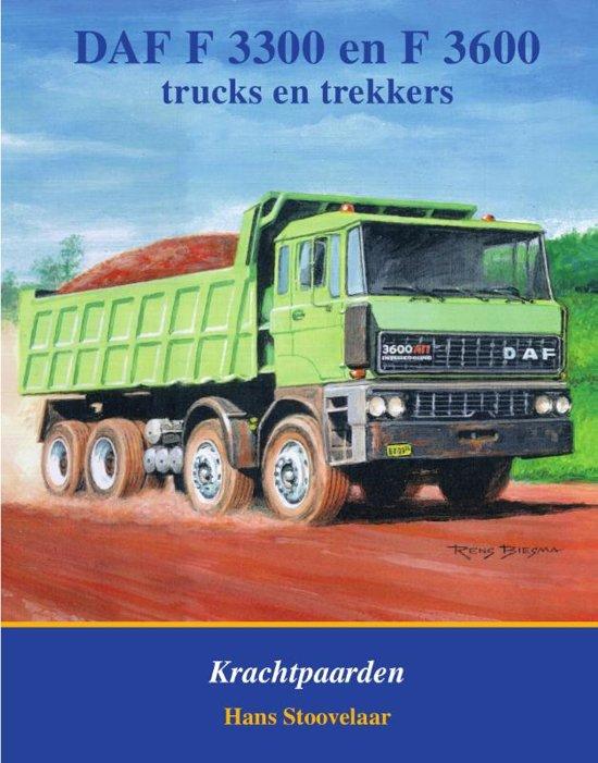 Boek cover DAF F3300 en F3600 van H Stoovelaar (Hardcover)