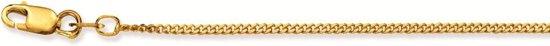 Glow - Gouden Lengtecollier Gourmet 1,4mm/50cm
