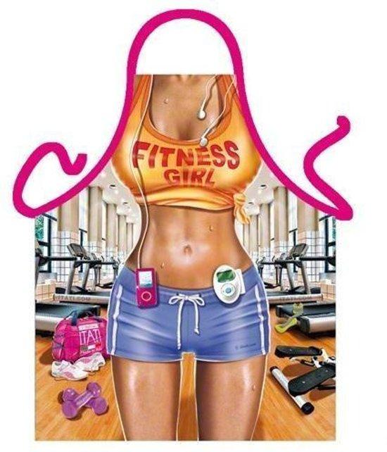 Fitness Girl - Sexy Grappig Leuk Schort Keukenschort