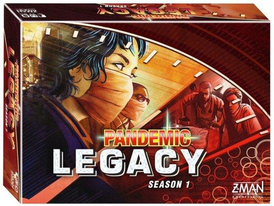 Pandemic Legacy Red Season 1