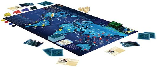 Pandemic Legacy Red - Bordspel - Engelstalig