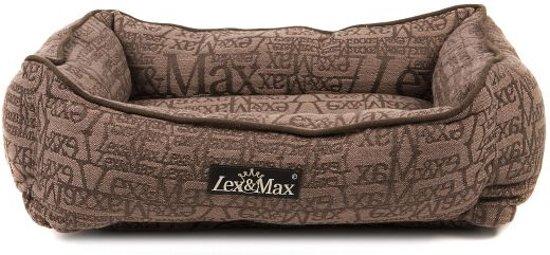 Lex & max chic kattenmand  40x50cm taupe