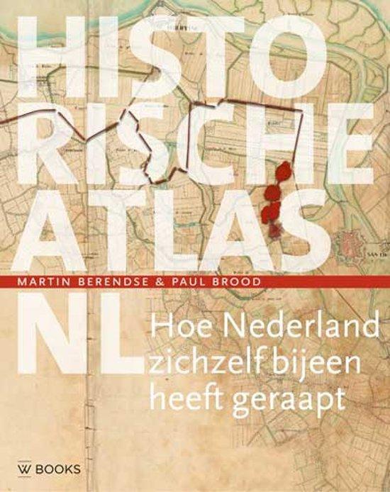 Boek cover Historische atlas NL van Martin Berendse (Hardcover)