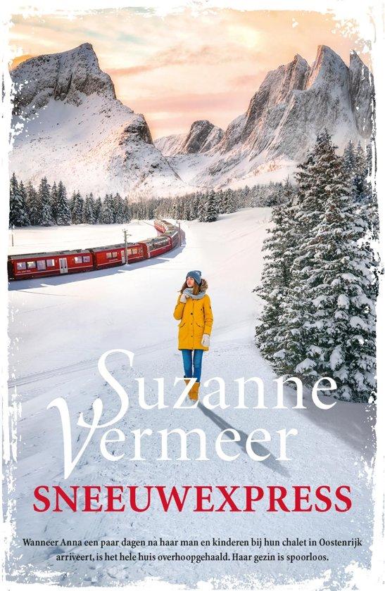 Boek cover Sneeuwexpress van Suzanne Vermeer