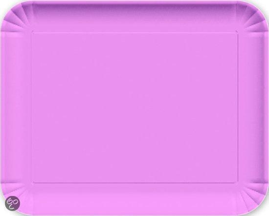 Baci Milano Candies Dienblad - 29.5  x 36.5 cm - Melamine - Roze