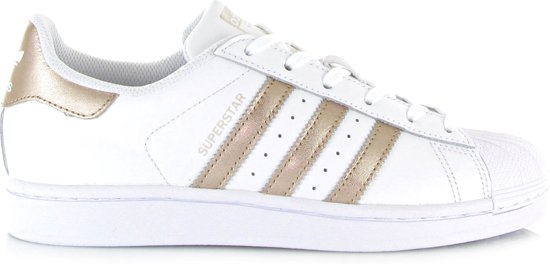99b46da5151 bol.com | Adidas Dames Sneakers Superstar Dames - Wit - Maat 40⅔
