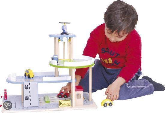Houten Garage Hema : Bol.com houten garage speelgoed
