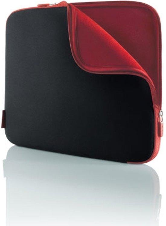 Belkin Neopreen Sleeve voor 17 inch notebooks - Zwart / Rood