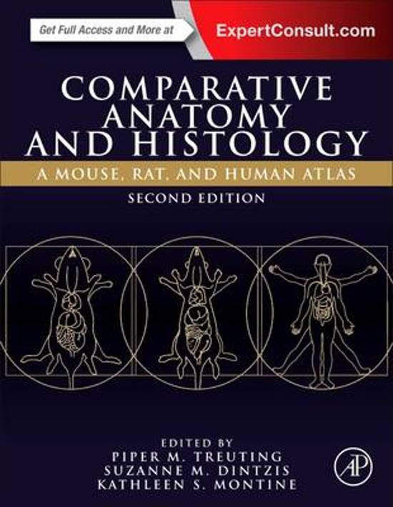 Bol Comparative Anatomy And Histology 9780128029008 Piper