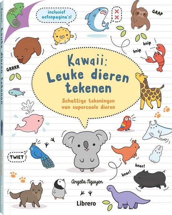 Vaak bol.com | Kawaii: Leuke dieren tekenen, Angela Nguyen @WV63