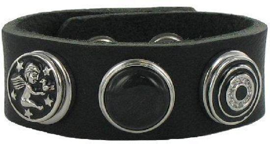 Quiges - Klaargemaakt Drukknoop Armband Set #115