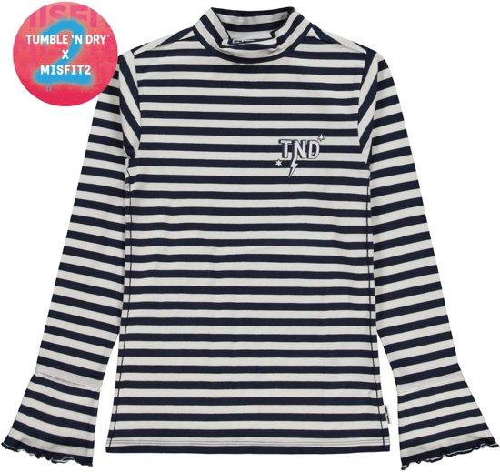 Tumble 'N Dry Meisjes Shirt Ilexis - Blue Dark - Maat 158/164