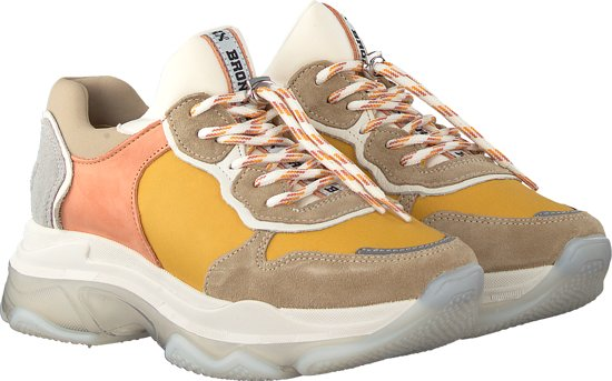 Bronx Sneakers Laag Baisley Geel-41