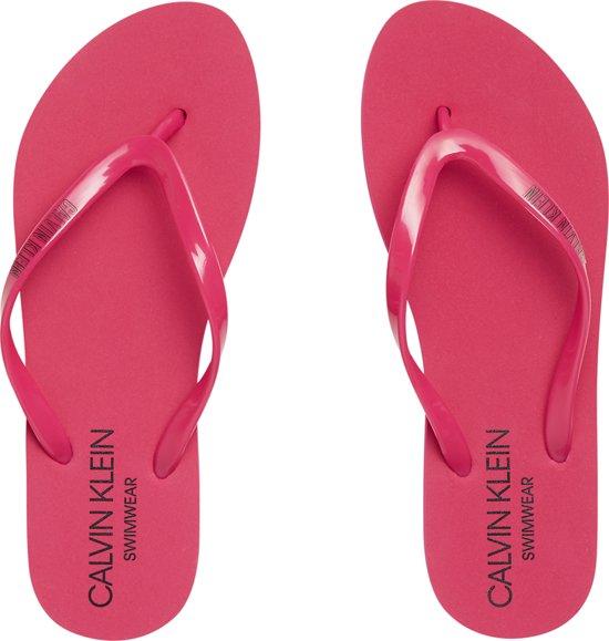 Calvin Klein Dames Sandal Slippers Roze 39 40