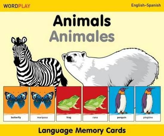 Afbeelding van het spel Animals Language Memory Cards