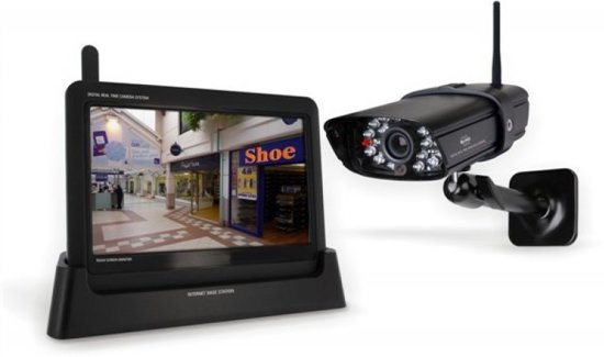 """ELRO CS87T Digitaal Camerasysteem - Draadloos - Met 7"""" touchscreen"""