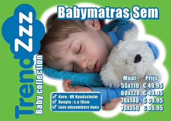 Babymatras Sem 55x110 ca 10cm Dik