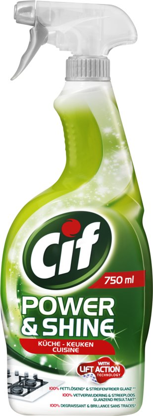 cif keuken spray 750 ml schoonmaakmiddelen