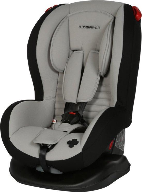 Kinderstoel Auto 6 Jaar.Kidsriver Evi Autostoel Grijs