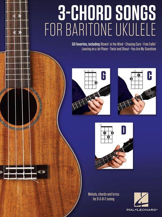 Bol 3 Chord Songs For Baritone Ukulele G C D Ebook Hal