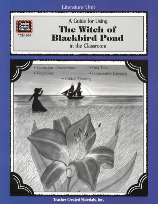 compassion in the witch of blackbird Home literature level 3: grades 5-8 level the witch of blackbird pond what will kit choose, reputation or compassion.