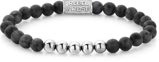 Rebel&Rose Armband - Edelsteen - 19 cm